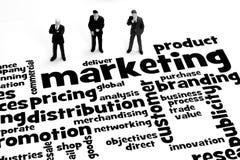 Geschäftsmarketing Lizenzfreie Stockfotos