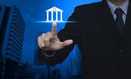 Geschäftsonline-bankings-Konzept Stockfotografie