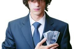 Geschäftsrest-Geldarbeit Lizenzfreies Stockbild