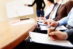Geschäftsseminar Lizenzfreies Stockbild