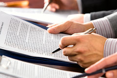 Geschäftsseminar Lizenzfreie Stockfotos