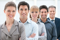 Geschäftsteam bei der Arbeit Lizenzfreie Stockfotos