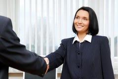 Geschäftsteam â Vereinbarung. Stockfoto