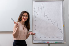 Geschäftstrainer Stockfoto
