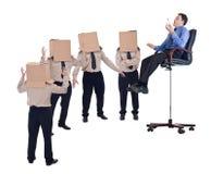 Geschäftstrainer-, -kursleiter- oder -führerkonzept Lizenzfreie Stockfotos