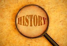 Geschichte Stockbild
