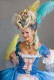 Geschichte des Modedesigns - Rokoko, barock Lizenzfreies Stockfoto