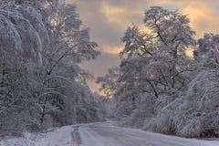 Geschichte des Winters. Stockfotos