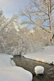 Geschichte des Winters. Stockfotografie