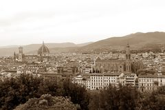 Geschichte, Kunst und Kultur der Stadt von Florenz - Italien 001 Stockfotografie