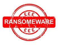 Geschichte Ransomeware NHS Stockbild