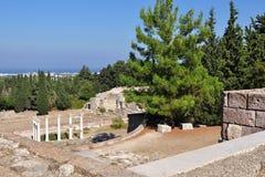 Geschichte von Kos-Insel, Griechenland Stockbilder
