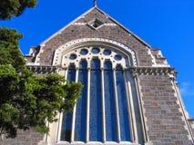 Geschichten-Gebäude in Christchurch Stockfoto