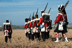 Geschichtenuniform der britischen Armee Lizenzfreie Stockfotos