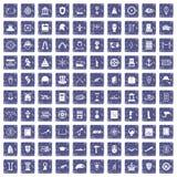 100 Geschichtsikonen stellten Schmutzsaphir ein Stockfotografie