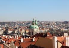 Geschichtsmitte von Prag stockbilder