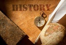 Geschiedenis Royalty-vrije Stock Fotografie