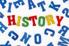 geschiedenis stock afbeelding