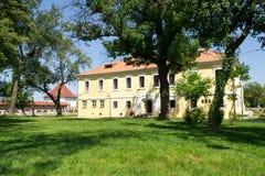 Geschiedenis en archeologisch museum, targu-Mures royalty-vrije stock fotografie
