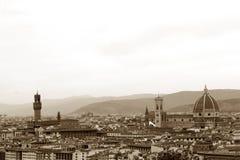 Geschiedenis, kunst en cultuur van de stad van Florence - Italië 002 Stock Afbeelding