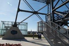 Geschiedenis van de gebouwen van het minimgmuseum in Katowice royalty-vrije stock foto