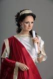 Geschiedenis van manierontwerp - Neoclassicism, Romein stock afbeeldingen