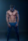Geschikt mannelijk model royalty-vrije stock fotografie