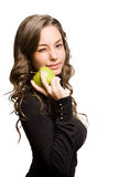 Geschikte appelschoonheid. Royalty-vrije Stock Afbeelding