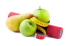 Geschiktheid en Dieet Stock Afbeeldingen