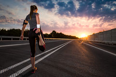 Geschiktheid en van Trainingwellness Concept stock fotografie