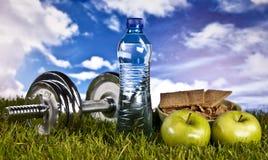 Geschiktheid, gymnastiek, healthly levensstijl stock foto