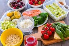 Geschiktheids gezond voedsel Royalty-vrije Stock Foto