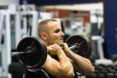 geschiktheids gymnastiek opleiding Royalty-vrije Stock Foto