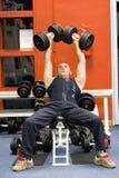 geschiktheids gymnastiek opleiding Royalty-vrije Stock Afbeelding