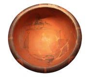 Geschilderd aardewerkbassin royalty-vrije stock foto