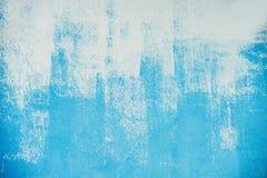 Geschilderd blauw Stock Afbeelding