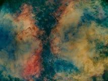 Geschilderd canvas Stock Afbeelding