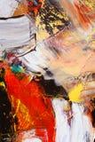 Geschilderd canvas Royalty-vrije Stock Afbeelding