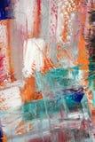 Geschilderd canvas als achtergrond. royalty-vrije stock afbeelding