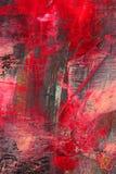 Geschilderd canvas als achtergrond. Stock Afbeeldingen