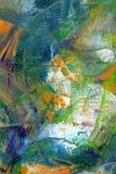 Geschilderd canvas als achtergrond Stock Foto