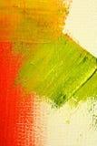 Geschilderd canvas als achtergrond Stock Afbeeldingen