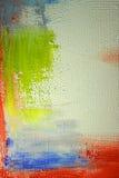 Geschilderd canvas asbackground Royalty-vrije Stock Afbeeldingen