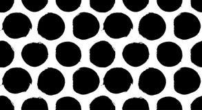 Geschilderd Dots Pattern vector illustratie