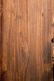 Geschilderd gevernist stuk van hout stock foto