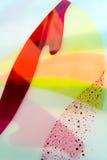Geschilderd Glas Met de hand gemaakt het werkideaal voor abstracte achtergronden Royalty-vrije Stock Foto's