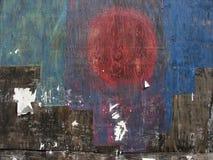 Geschilderd hout 2 Stock Afbeelding