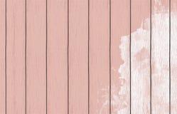 Geschilderd houten behang als achtergrond met kleurenverf royalty-vrije stock fotografie