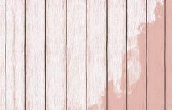 Geschilderd houten behang als achtergrond met kleurenverf royalty-vrije stock foto's