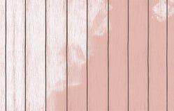 Geschilderd houten behang als achtergrond met kleurenverf stock foto's